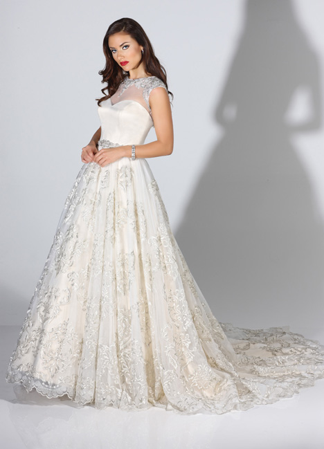 Raquel gown from the 2014 Cristiano Lucci collection, as seen on dressfinder.ca