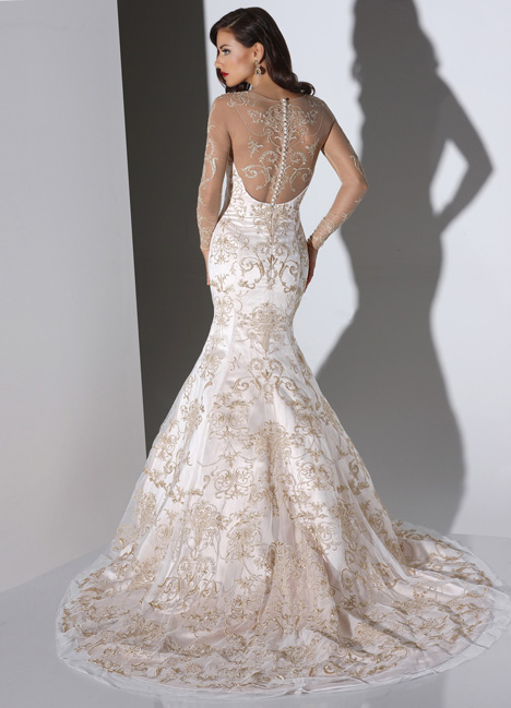Rita gown from the 2014 Cristiano Lucci collection, as seen on dressfinder.ca
