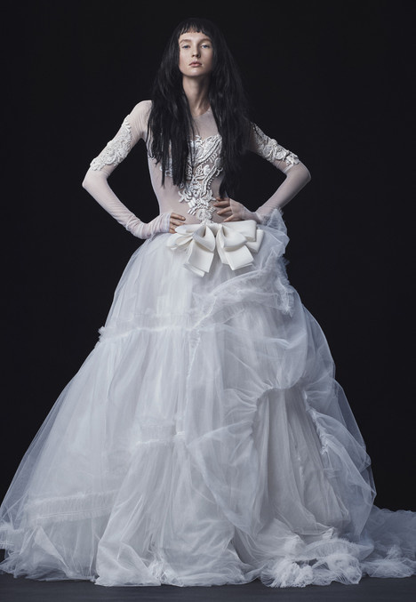 Alba Wedding                                          dress by Vera Wang