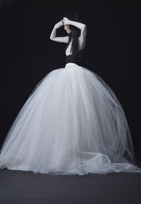 Look 14 Wedding                                          dress by Vera Wang