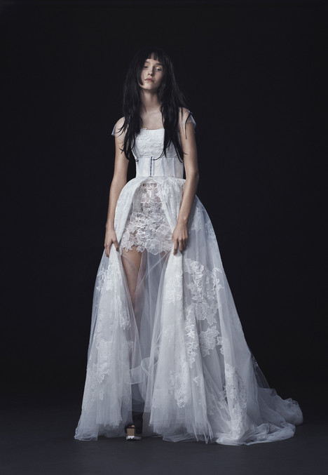 Look 15 Wedding                                          dress by Vera Wang