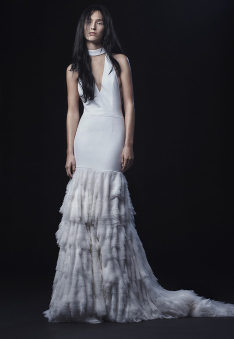 Carolina Wedding                                          dress by Vera Wang