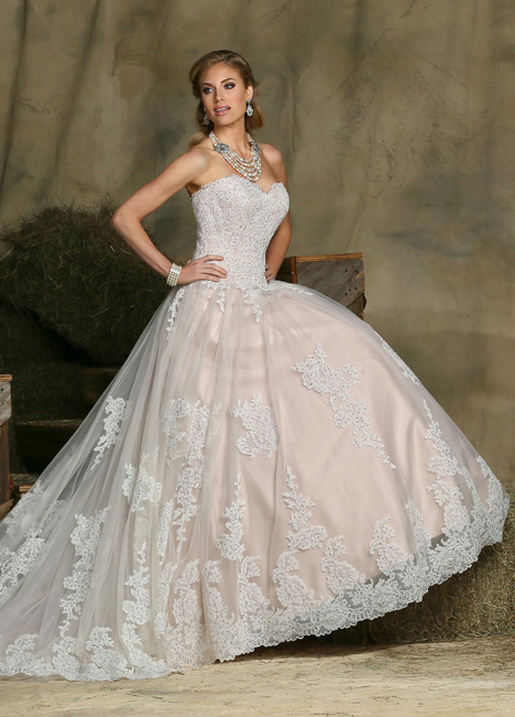 50331 Wedding                                          dress by DaVinci