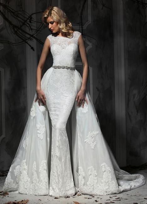 10365 + Overskirt Wedding                                          dress by Impression