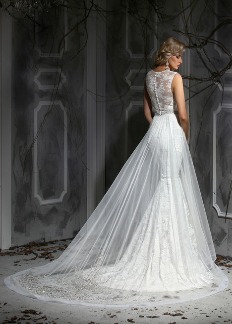 10353 + Overskirt Wedding                                          dress by Impression