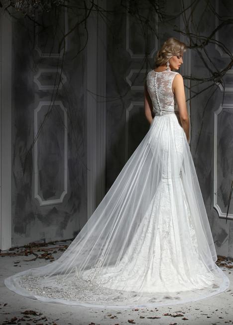 10353 + Overskirt Wedding                                          dress by Impression