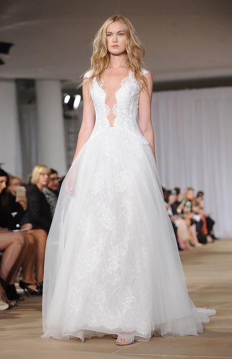 Sheer gown from the 2016 Ines Di Santo collection, as seen on dressfinder.ca