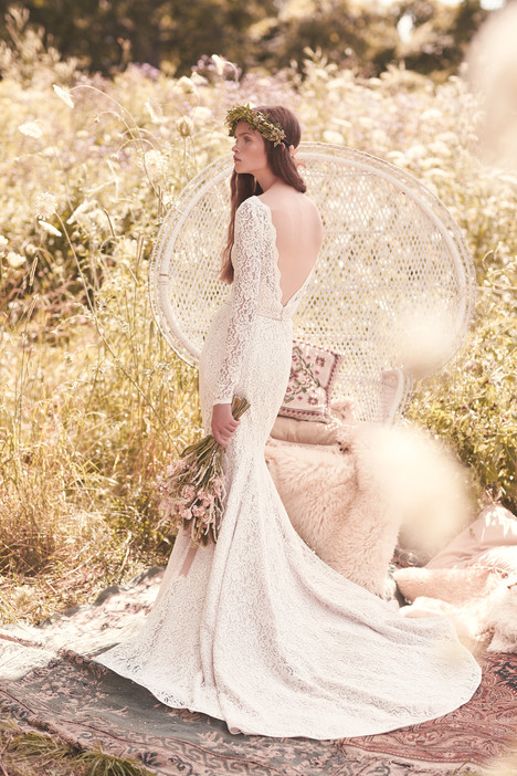 2050 Wedding                                          dress by Mikaella