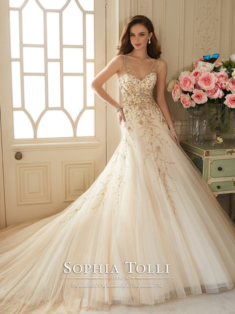 Darice Wedding                                          dress by Sophia Tolli