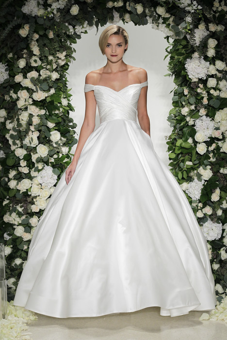 Berkeley Wedding                                          dress by Anne Barge