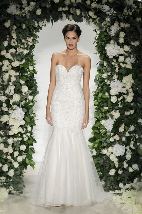 Carlyle Wedding                                          dress by Anne Barge