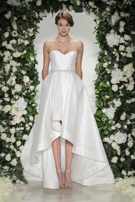 Rhyland Wedding                                          dress by Blue Willow by Anne Barge