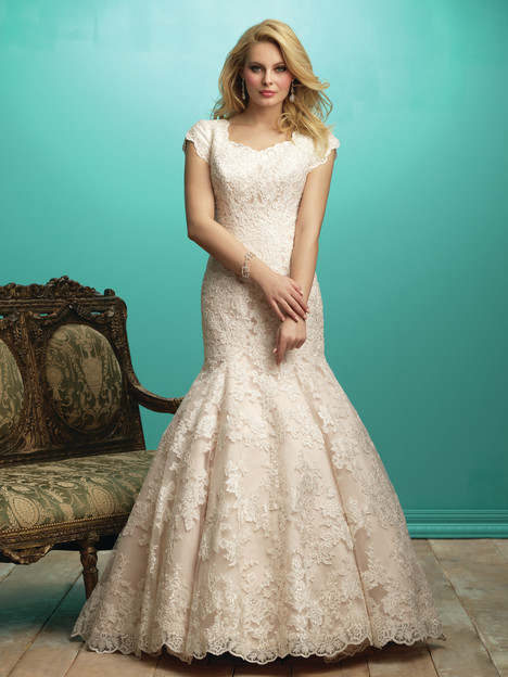 M540 Wedding                                          dress by Allure Bridals: Allure Modest