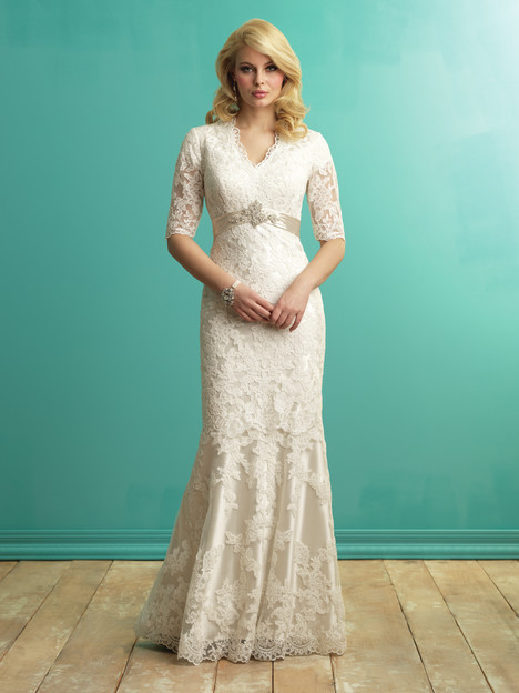 M543 Wedding                                          dress by Allure Bridals: Allure Modest