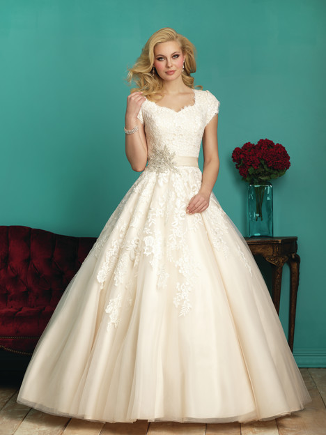 M544 Wedding                                          dress by Allure Bridals: Allure Modest