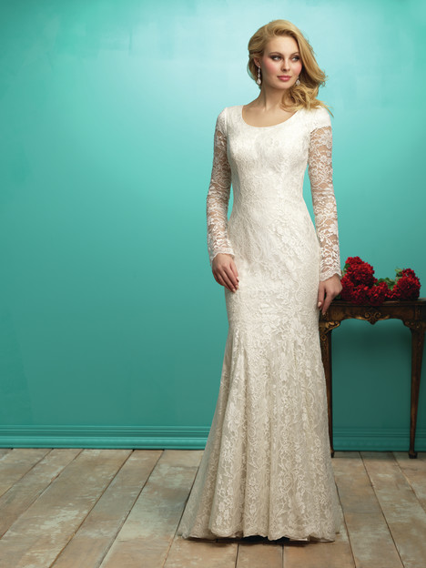 M545 Wedding                                          dress by Allure Bridals: Allure Modest