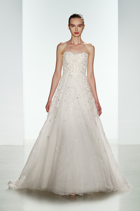 Ashton Wedding                                          dress by Amsale