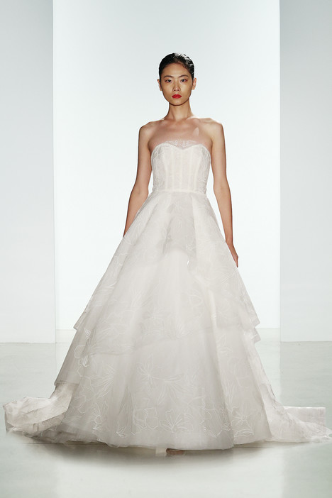 Quinton Wedding                                          dress by Amsale