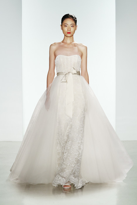 Linden Wedding                                          dress by Amsale