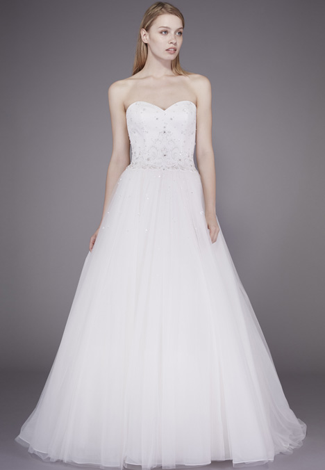 Judy Wedding                                          dress by Badgley Mischka Belle