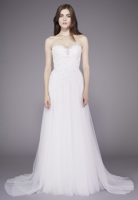 Loretta Wedding                                          dress by Badgley Mischka Belle