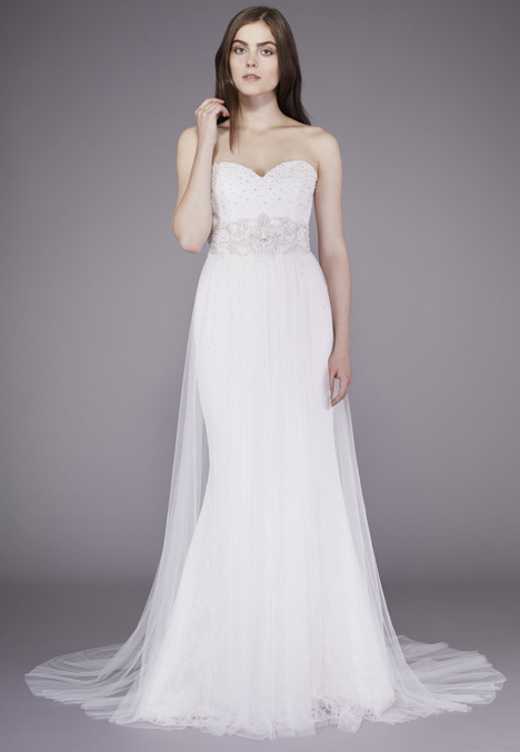 Louise Wedding                                          dress by Badgley Mischka Belle