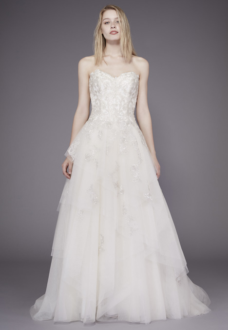 Mae Wedding                                          dress by Badgley Mischka Belle