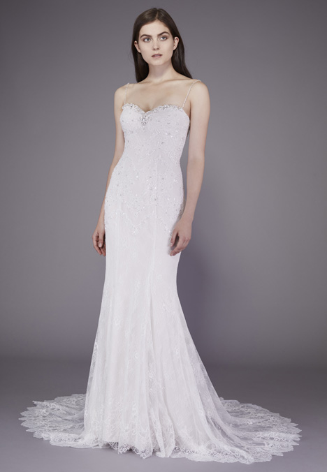 Miranda Wedding                                          dress by Badgley Mischka Belle