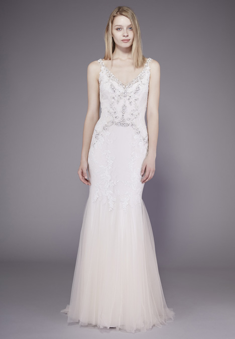 Natalie Wedding                                          dress by Badgley Mischka Belle