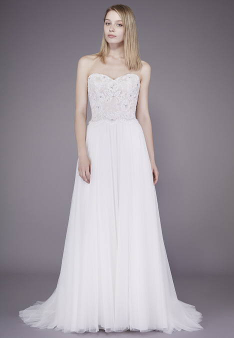 Paulette Wedding                                          dress by Badgley Mischka Belle