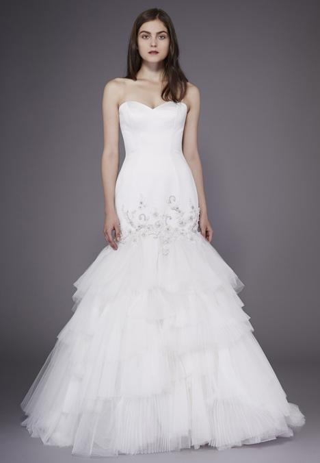 Ruth Wedding                                          dress by Badgley Mischka Belle