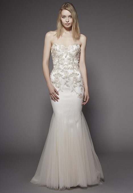 Vivian Wedding                                          dress by Badgley Mischka Belle