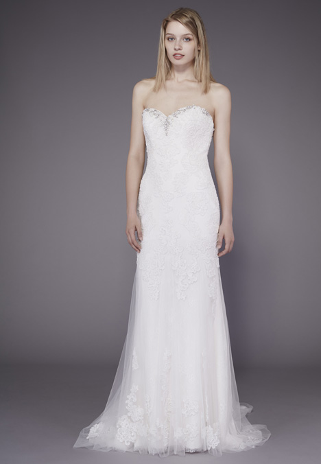 Yvonne Wedding                                          dress by Badgley Mischka Belle