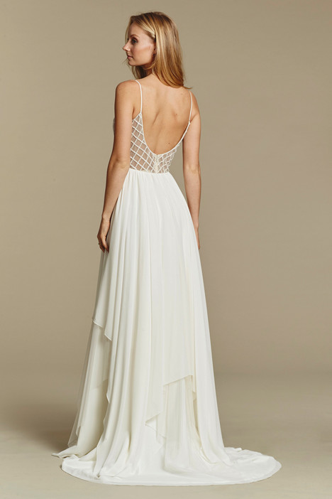 Honeycomb (1607) (back) gown from the 2016 Blush by Hayley Paige collection, as seen on dressfinder.ca