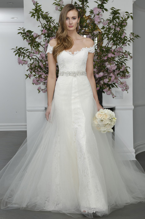 L6104 + Overskirt gown from the 2016 Legends Romona Keveza collection, as seen on dressfinder.ca