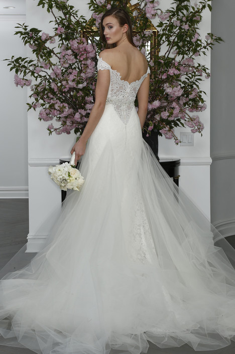 L6104 + Overskirt (2) Wedding                                          dress by Legends Romona Keveza