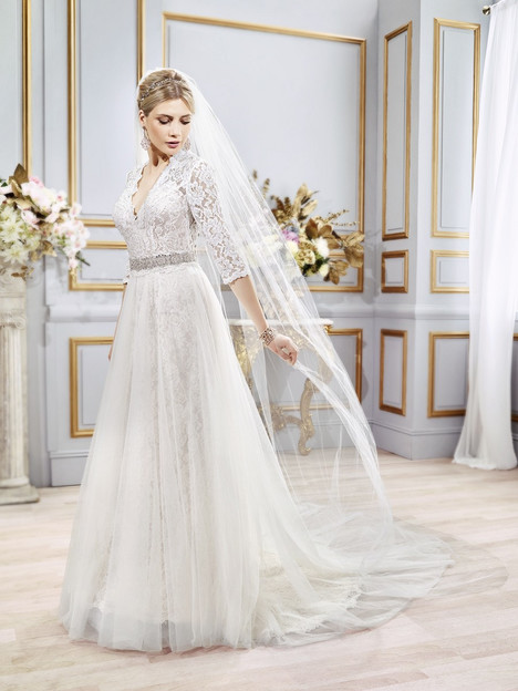 Amaris + Overskirt gown from the 2016 Val Stefani collection, as seen on dressfinder.ca