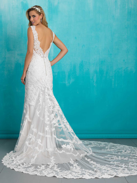 9304 (2) Wedding                                          dress by Allure Bridals