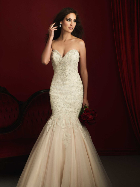 C363 gown from the 2016 Allure Bridals : Allure Couture collection, as seen on dressfinder.ca