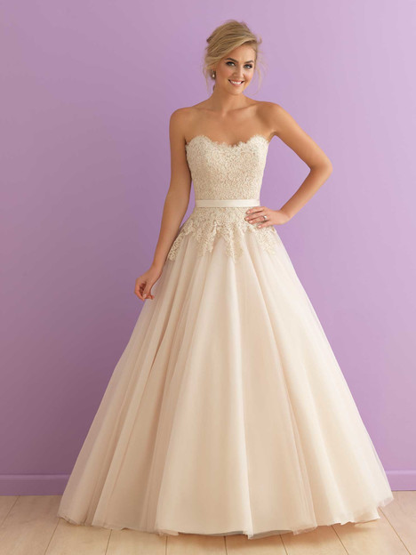 Style 2908 gown from the 2016 Allure Romance collection, as seen on dressfinder.ca