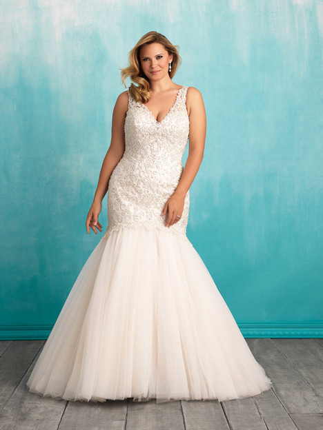 Style W377 gown from the 2016 Allure Women collection, as seen on dressfinder.ca
