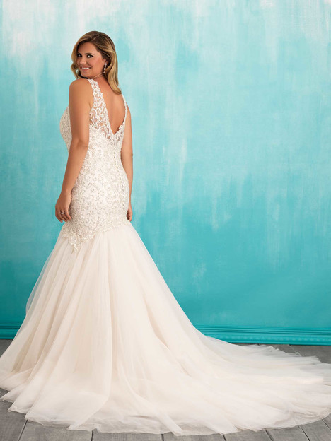 W377 (2) Wedding                                          dress by Allure Bridals : Allure Women