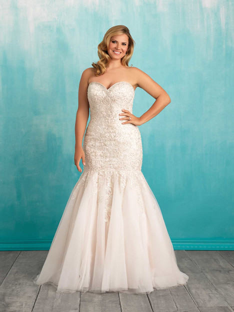 Style W375 gown from the 2016 Allure Women collection, as seen on dressfinder.ca