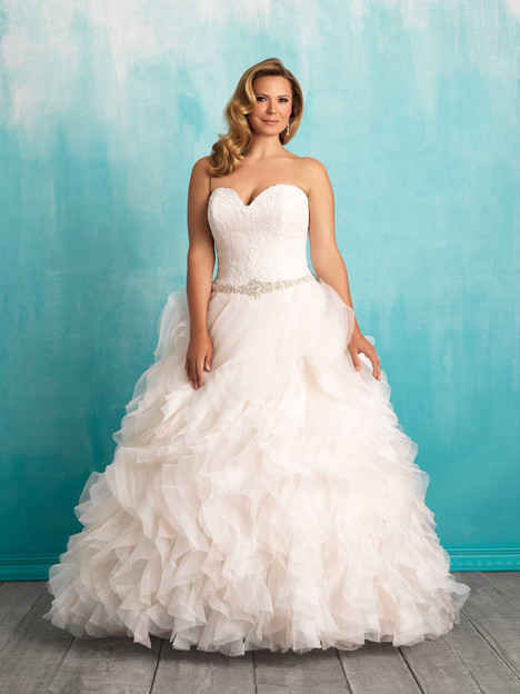 W374 Wedding                                          dress by Allure Bridals : Allure Women
