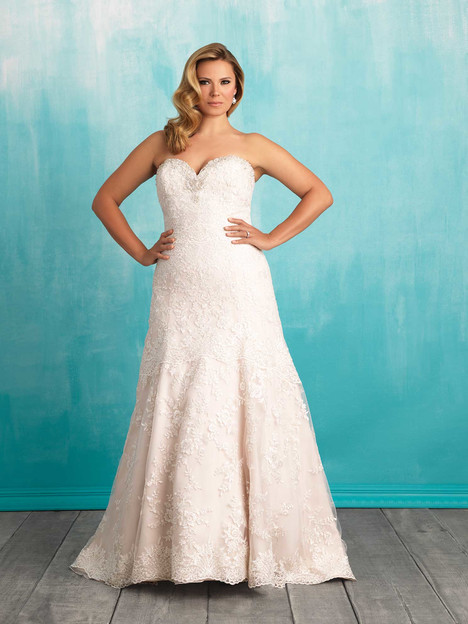 W373 Wedding                                          dress by Allure Bridals : Allure Women
