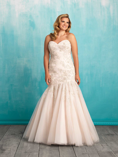 W372 Wedding                                          dress by Allure Bridals : Allure Women