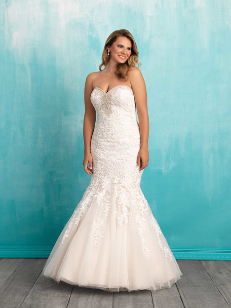 Style W371 gown from the 2016 Allure Women collection, as seen on dressfinder.ca