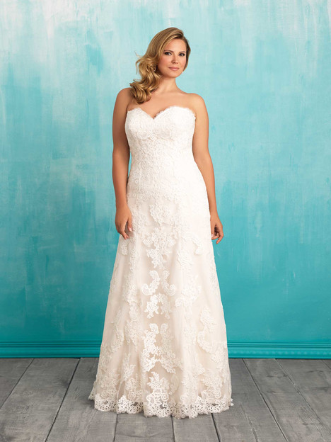 W370 Wedding                                          dress by Allure Bridals : Allure Women
