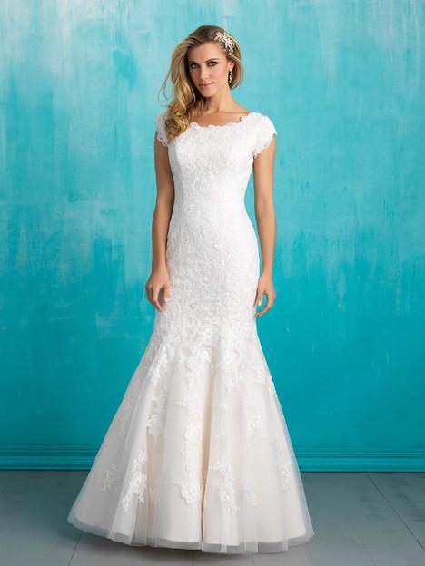 M555 Wedding                                          dress by Allure Bridals: Allure Modest