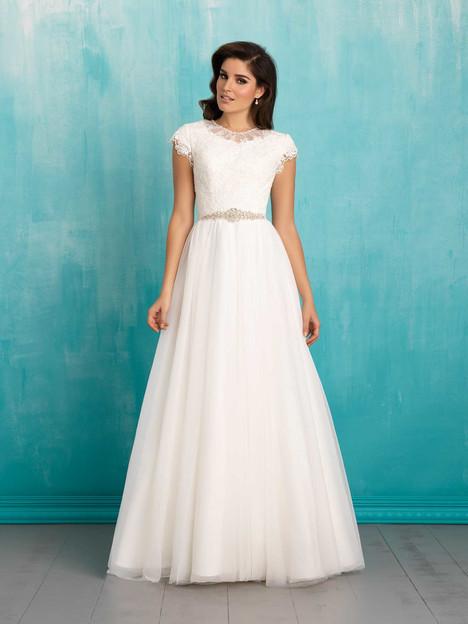 M552 Wedding                                          dress by Allure Bridals: Allure Modest